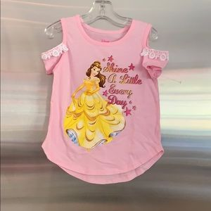 Disney Princess cold shoulder top
